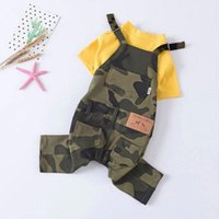 Dog Apparel Clothes Puppy Jumpsuit Jean Pet Hoodie Funny Outfits Coat Pullover Fleece Jacket Ropa Perros Costume JJ60GLT
