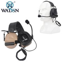 Auriculares Comtac II de alta calidad con micrófono suave silicona oreja auricular táctico wz044 pistola C2 accesorios para auriculares