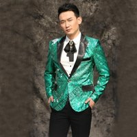 M-3xl Nightclub 2021 Men Clothing Bar Ds Sequins Suit Groom Formal Dress The Host Studio Stage Male Singer Costumes Men's Suits & Blazers