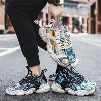 2021 homens de estilo quente tênis de pano florais sapatos antigos sapatos casuais tamanho 39-44