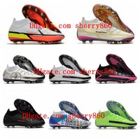 Mens High Tops Football Boots Soccer Shoes Phantom GT Elite Dynamic Fit AG-PRO Cleats outdoor sneakers scarpe da calcio