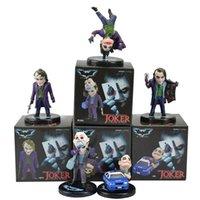 5 шт. / Установить фильм The Dark Knight Joker Действия Фигурки PVC Boxed Model Model Toy