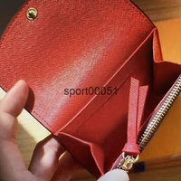 Toptan M62361 Rosalie Coin Çanta Mini Cep Kısa Kadınlar Kompakt Cüzdan Kart Sahipleri Deri Emilie Sarah Victorine Cüzdanlar 62361