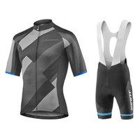 Conjuntos de carreras 2021 Pro Team Giant Deceuninck Ciclismo Jersey Set Bike Ropa Ropa Ciclismo Ropa de ropa para bicicletas Hombres cortos Maillot Culotte
