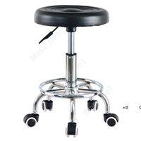 Hydraulic Adjustable Salon Stool Swivel Rolling Tattoo Chair SPA Massage Commercial Furniture sea shipping DAM314