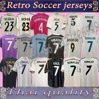 Real Madrid Retro Fussball Jersey Ronaldo Benzema Ballen-Trikots Modric Kaka Sergio Ramos Camesa de Futol 09 10 11 12 13 14 15 16 17 18 Classic Football Shirt