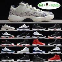 [Pulsera + calcetines + caja original]Air Jordan 11 Jordans AJ11 shoes High 45 zapato Platinum Tint 11 xi 11s Cap y vestido zapatos baloncesto PRM Jams Cred Men Sports Sneakers