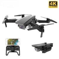 HGIYI M71 720P RC بدون طيار 4K كاميرا rc البسيطة طوي مع wifi fpv selfie التدفق البصري مستقرة quadcopter rc الطائرات بدون طيار KF609
