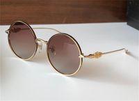 빈티지 패션 디자인 선글라스 Gorgina-I 라운드 금속 프레임 빛과 편안한 최고 품질 다용도 스타일 UV400 보호 안경