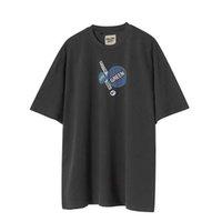 Balencaigagallery Dept. Graphic Vintage T-shirt Mens Casual Cotton t Shirts Tee Summer Shirt Men Women Hip Hop Streetwear Mg210048designer