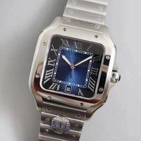 2021 Nouvelles montres carrées 40mm Genève Véritable En acier inoxydable Mechanical Montres Cas et Bracelet Mode Mesure Montres Montres Male Montre Montre