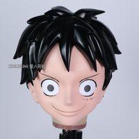 Máscaras de festa (Kig7251) Kigurumi Crossdress Cosplay Papel Japonês Play Anime Caráter Macaco D. Máscara Luffy Crossdresser Boneca