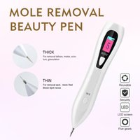 2021 Portable Mini Mole Removal Beauty Pen with Electirc Ion Carbonization Technology for Dark Spot Remover Eyelid Face Lift Wrinkle Reduction Skin Care Device