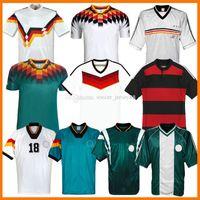 Deutschland Retro Fussball Jerseys 1992 1996 1988 92 96 98 14 15 Littbarski Ballack Klinsmann 1998 2014 2014-15 Matthias Klassische Vintage Kalkbrenner Football Hemden Kits