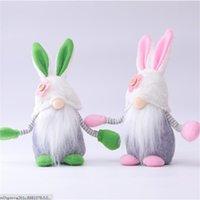 Paashaas Rrabbit Gnome Faceless Bunny Dwarf Doll Pasen Pluche Konijn Dwerg Vakantie Partij Tafel Decoratie Thuis Accessoires