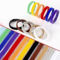 Welpen-ID-Identifikations-Halsbänder einstellbares Nylon kleines Kätzchen-Multicolor-Halskettenhund-Haustier-Zubehör