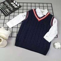 Children's wear top thickened warm cotton vest
