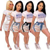 Women's Jeans Donsignet Women Summer Fashion Tassel Hole Classic Denim Shorts High Street Short Pants For