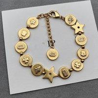 Kutusu ile titanyum çelik altın charm vida tırnak bilezik bileklik pulsera kol bandı erkek ve kadınlar için düğün çiftler severler hediye takı ry221