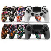 Controller mimetico per PS4 Four Generations 4.0 Vibrazione Joystick Gamepad Gamepad Game Controller 8 Colori opzionali