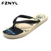 Fznyl dos desenhos animados flip flops homens de alta qualidade pvc verão praia chinelos homens não deslizante indoor sandálias caseiras amantes 2020 nova chegada s991 #