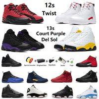 air jordan Com Box Twist Jumpman 12 Court Purple13s masculino de basquete Red Flint 13 University Gold Reverse Flu Game masculino Glitter Cinza Escuro Boné Tênis tênis esportivos