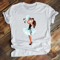 Women Mom Sweet Love Baby Short Sleeve Cartoon Daughter Mother Mama Summer Clothes Print Tshirt Female Tee Top Graphic T-shirt Women's
