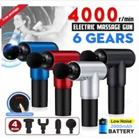 Multifunction Fascia Gun Body Muscle Therapy Sport Magic Massage Guns Electric Booster Vibration Percussion Massager Deep Tissue Pain Relief