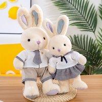 Lovely Rabbit Couple Stuffed Animal Doll Plush Toys Gifts