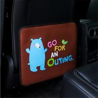 Car Seat Back Protector Cover Cartoon Car Styling Kick Mat Baby Kid Anti-dirty Pad Protective Cover Car Accessories