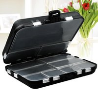 Fishing Accessories Double Sides Tackle Box Portable Lure Hook Baits Storage Separated Cells Organizer