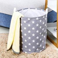طوي الملابس تخزين دلو ماء حقيبة الأطفال اللعب المنظم أكياس سلة الغسيل القذرة