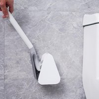 Bath Accessory Set Silicone Bristle Golf Toilet Brush And Drying Holder For Bathroom Storage Organization Cleaning Tool Accessories