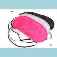 Masks Vision Care Health & Beautysleep Eye Mask Shade Nap Er Blindfold Slee Sleep Fashion Wholesale Mixed Colors Drop Delivery 2021 H9Oem