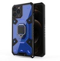 듀얼 레이어 TPU PC 견고한 홀더 마운트 Realme 8 Pro Reno 6 Samsung Galaxy A12 A32 5G S21 Note 10 Plus와 함께 제공됩니다.