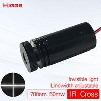 Larghezza regolabile di alta qualità 780nm 50mw Modulo a infrarossi a infrarossi del laser a infrarossi Invisibile Light IR Marking Grado industriale Personalizzabile Portable Portable Lante