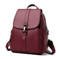 Women's Bag Fashion High Quality Female Versatile Shoulder Backpack Feeling Foreign Leisure Girl's for Women 211025