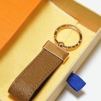 Portachiavi auto classici Moda Lettera di moda Accessori Cinque stili semplici ornamenti con scatola di alta qualità