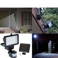 Solar Lamps 60 LED Powered Outdoor Garden Motion Sensor Security Flood Light Spot Lamp Floodlights Spotlights Bulbs
