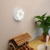 Night Lights Motion Sensor Wireless Bedroom Decor Lamp LED Kitchen Cabinet Light Staircase Closet Room Aisle Lighting Wall