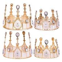 Other Event & Party Supplies Plastic Lightweight Upright Queen Grand Crown With Vintage Adult High End Cake Decoration Baked Birthday Outfit