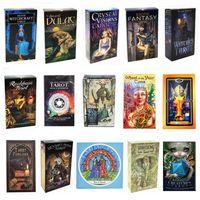 Personalidade Creative Tarot Card Bruxa Knight Smith Smith Sombra Cenário Selvagem Tarot Deck Party Party Caixa de Jogo Caixa de Cor English Portable