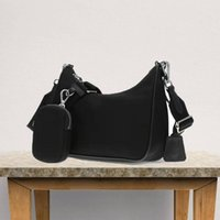 LouisLv2021 Bolso de mano de las señoras de la moda Bolso de hombro Crossbody Dos en uno Últimos modelos simples de moda tienen bolsas de polvo de caja enr