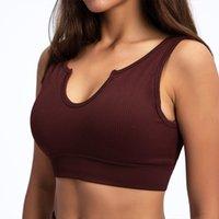 Yogaworld sem costura esportes de malha cueca yoga esporte sutiã v-pescoço u-back rodando fitness yoga colete ginásio roupas mulheres funcionando fitness alta intensidade tops
