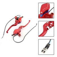 Motorcycle Brakes Accessories 22mm Universal Adjustable Hydraulic Clutch Brake Pump Master Cylinder Levers Arrives