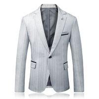 High Quality Men Blazers Jackets Slim Fit Suits Jackets Groom dress New Male Wedding Dress Formal Wear Suits Blazers Size 5XL