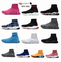 """""""balenciaga balanciaga balenciaca balenciga Speed 1.0 Sock Sports Trainer Scarpe da uomo Allenatore Stivaletti Boots ClearSole Fluo Piattaforma Sneakers Sneaker 36-45"""
