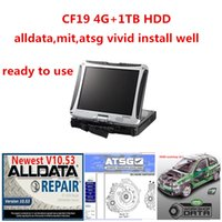 2020 뜨거운 최신 AllData MIT ATSG 생생한 하드 드라이브 1TB HDD 자동 복구 Toughbook CF19 4GB 터치 스크린 진단 컴퓨터 읽기