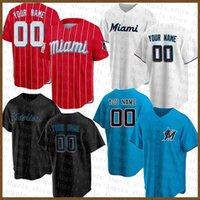 Miami Baseball Jersey Marlins 16 Jose Fernandez 22 Sandy Alcantara 15 Brian Anderson 25 Lewis Brinson 5 Jon Berti 24 Jesus Aguilar 13 Starlin Castro 42 Jackie Robinson
