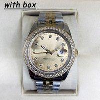 WatchBr-41mm 36mm Mecânica Automática Relógios Customizáveis Bezel Aço Inoxidável Mulheres Diamante Lady Watch